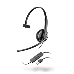 缤特力 C310 USB耳麦 单耳 黑色