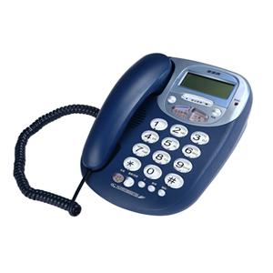 步步高 电话机, 深蓝色,HCD007(6033)/(33)P/TSDL(LCD)