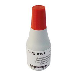 诺丽色(noris) 191 25ml 红色快干印油(10支/盒)