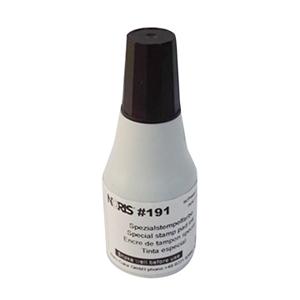 诺丽色(noris) 191 25ml 黑色快干印油(10支/盒)