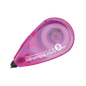 普乐士 C48-014 迷你修正带 5mm*7m 粉红色