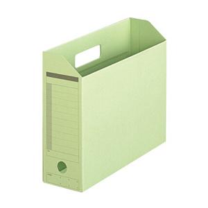 普乐士 FL-051BF 横式文件盒 纸质 淡绿色