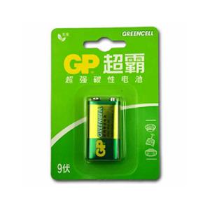 超霸 1604G 碳性电池 1粒 9V
