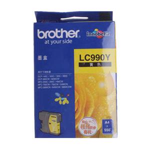兄弟 LC-990Y 墨盒 550页 黄色 适用于兄弟 DCP-6690CW /