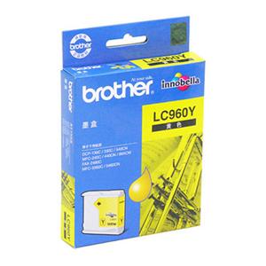 兄弟 LC-960Y 墨盒 400页 黄色