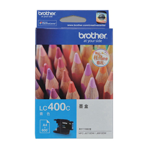 兄弟 LC400C 墨盒 600页 青色