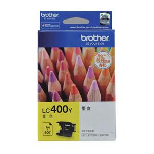 兄弟 LC400Y 墨盒 600页 黄色 适用于兄弟 MFC-J625DW /