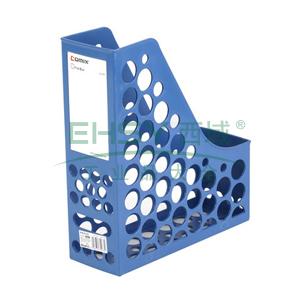 齐心 A1083 资料架/文件框 单格大容量 蓝