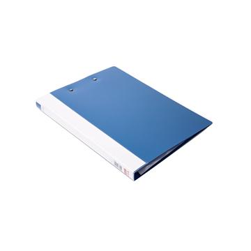 史泰博 NP1038 单强力夹板夹 A4 蓝色