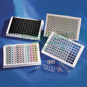 96孔板,V形底,PVC材质,无盖,未灭菌,散装,25个/包