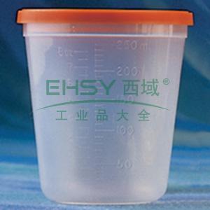 容器,250ml,带盖,PP材质,灭菌,独立包装,1个/包,下单按照100的整数倍