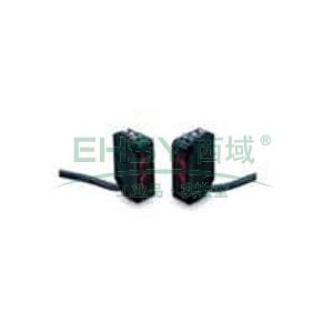 欧姆龙 反射型光电开关,E3Z-L61 2M BY OMS 90±30mm 放大器内置 扩散型