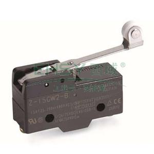 滚珠式微动开关,标准 螺丝端子 摆杆型