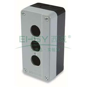 施耐德 XB2 按钮盒(3孔),XALB03C