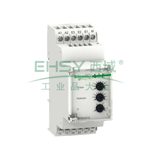 施耐德 电压控制继电器,RM35UA12MW