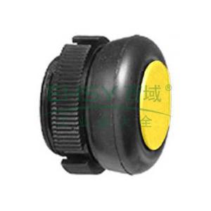 施耐德 前端安装的按钮头(黄色),XACA9415