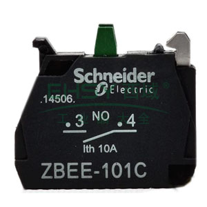 施耐德 触点模块 1NO,ZBEE101C