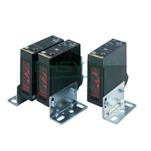 欧姆龙 对射型光电开关,E3JM-10S4T-N BY OMS 10m 电源内置 DC无接点
