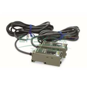 欧姆龙 反射光电开关,E3S-CR61 2M BY OMS 3.0m 放大器内置 回归型