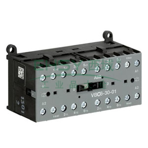 ABB直流线圈接触器,VBC6-30-01(24VDC)