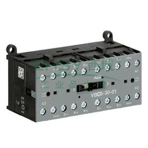 ABB直流线圈接触器,VBC6-30-01(110-125VDC)