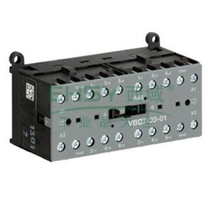 ABB直流线圈接触器,VBC7-30-01(220-240VDC)