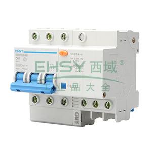 正泰 微型漏电保护断路器,NB7LE-32 3P C20A 30mA