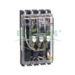 正泰 塑壳漏电断路器,DZ15LE-100/4901 100A 50mA 透明型