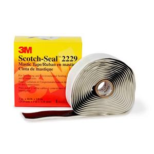3M 电工胶带,Scotch 2229 双面胶粘绝缘防水 102mm×3m