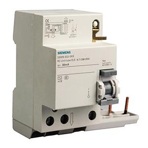 西门子 5SM9系列剩余电流保护模块 电子式 A型 300mA 3P 63A,5SM96356KK