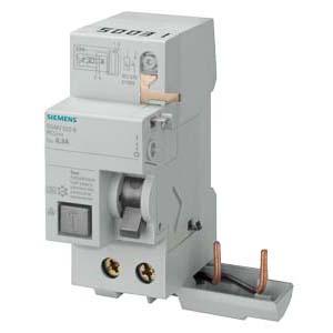 西门子 5SM2系列剩余电流保护模块 电磁式 A型 300mA 2P 0.3 ~ 40A,5SM26226