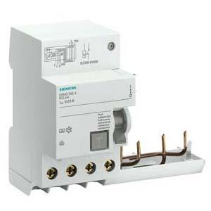 西门子 5SM2系列剩余电流保护模块 电磁式 A型 30mA 4P 0.3 ~ 40A,5SM23426