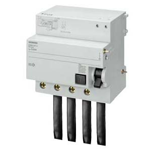 西门子 5SM2系列剩余电流保护模块 电磁式 A型 30mA 4P 80~100A,5SM23476