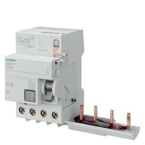 西门子 5SM2系列剩余电流保护模块 选择型电磁式 A(S)型 300mA 4P 0.3 ~ 63A,5SM26458
