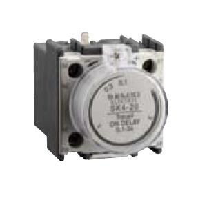 德力西CJX2交流线圈接触器附件,SK4-24空气延时头通电延时10-180s,SK424