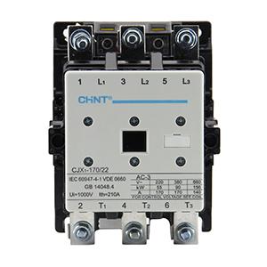 正泰交流接触器,CJX1-170/22 220V