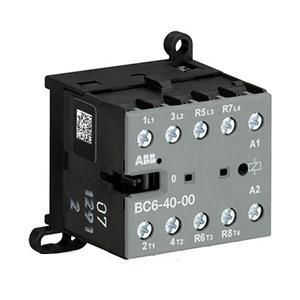 ABB四极直流线圈接触器,BC6-40-00(110-125VDC)