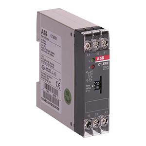 ABB 电子时间继电器,CT-ERE(24VAC/DC 220-240VAC 0.3s-30s)