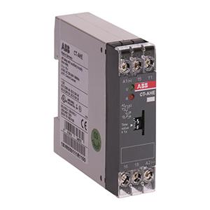 ABB 电子时间继电器,CT-VWE(24VAC/DC 220-240VAC 0.1-10s)
