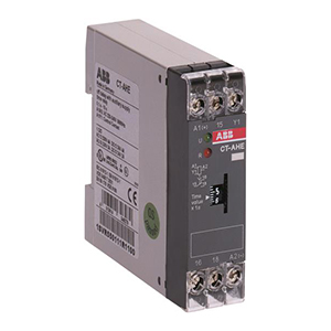 ABB 电子时间继电器,CT-AWE(24VAC/DC 3-300s)