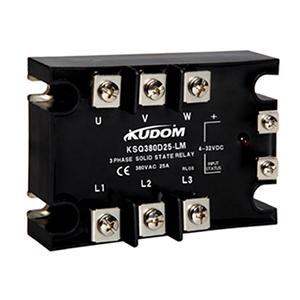 库顿 三相面板安装固态继电器,KSQF480D60 60A 48-440VAC
