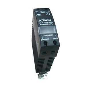 库顿 导轨安装型交流固态继电器,KSV480D30-L 30A 48-530VAC