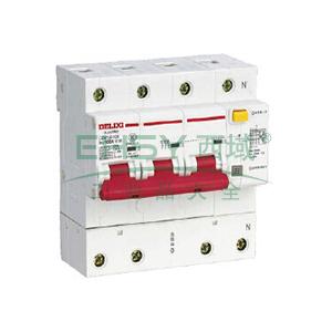 德力西 微型漏电保护断路器,DZ47LE-125 3P+N D80A 75mA,DZ47LE1256D80R75