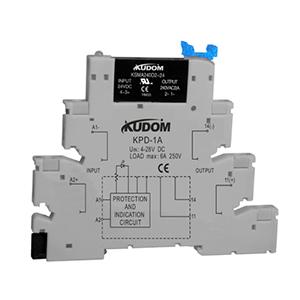 库顿 导轨安装型交流固态继电器,KSMA240D2-24D 2A 48-280VAC