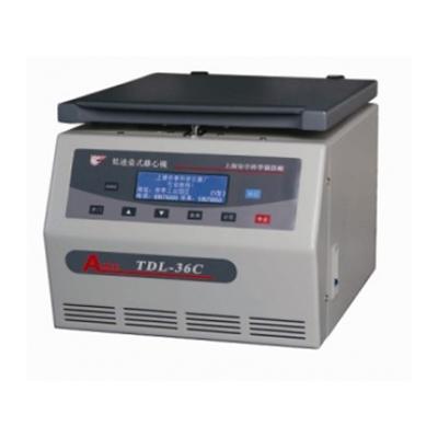 TDL-36C台式低速超大容量离心机,离高转速:3600转/分,主机,安亭
