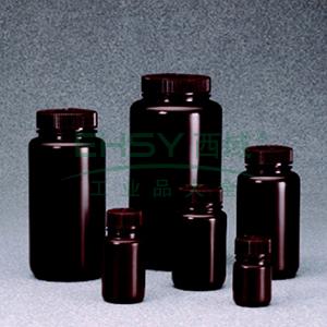 棕色广口瓶,250ml,HDPE