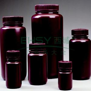 棕色广口瓶,500ml,HDPE