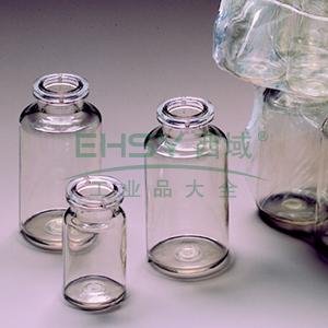 NALGENE无菌,血清瓶,Crimp Finish,聚对苯二酸乙二醇酯共聚物,10毫升容量,每箱1260