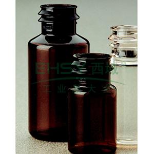 NALGENE无菌,血清瓶,Continuous Thread,透明琥珀色聚对苯二酸乙二醇酯共聚物,10毫升容量,每箱1260