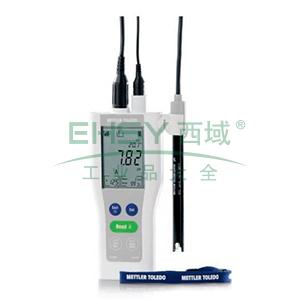 梅特勒 新FiveGo便携式pH计 F2-Field,30254115
